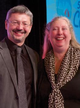 Jiri Stejskal and Past ATA President Caitilin Walsh